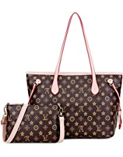 Montmo Handbags Set Shoulder Bag Ladies Designer Satchel Tote Top Handle Work Bag Shouler Totes Bags