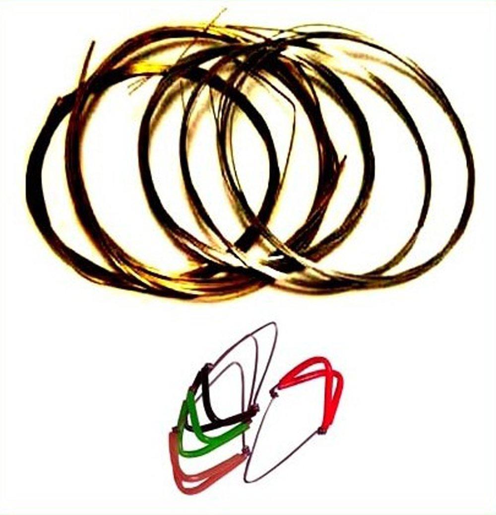 Value Pack - 1 Set Ellora Indian Sitar Complete String Set + 4 Mizrab Plectrums superbrass.com