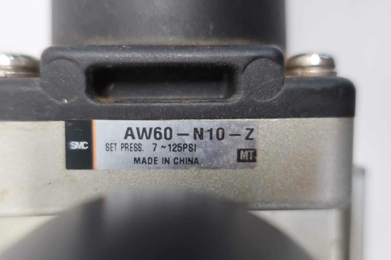 SMC AW60-N10-Z Pneumatic Filter-Regulator 1IN NPT 150PSI 7-125PSI D645636