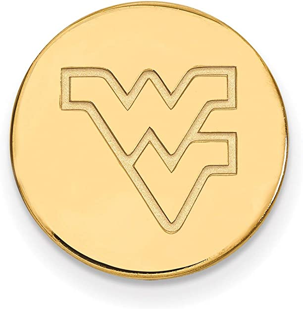 Lex /& Lu LogoArt Sterling Silver w//GP Western Kentucky University Small Pendant LAL139942