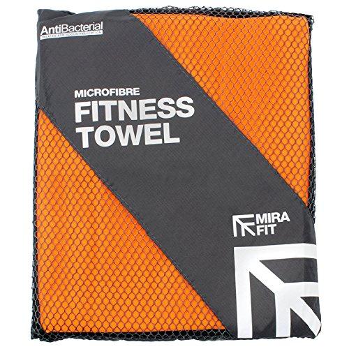 Mirafit serviette de fitness microfibre - Choix de taille et de couleur