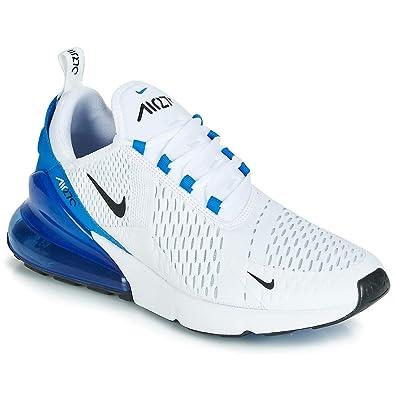 sports shoes d7d0a 4e4de Amazon.com   Nike Air Max 270 Mens White/Black Photo Blue ...