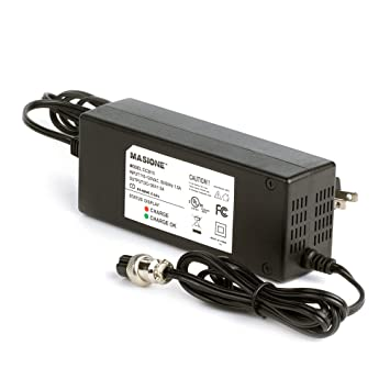 Masione New 36 Volt 1 5a Battery Charger For Electric