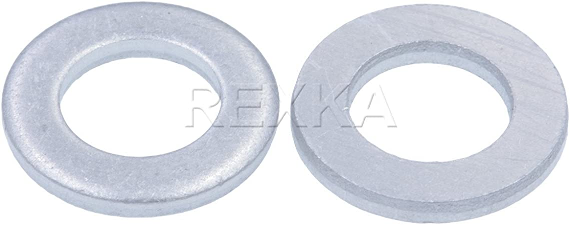 Pack of 15 Rexka Trans Pan Seal Gasket Washer for Toyota 90430-12008 Corolla Celica Carina Caldina