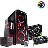 Pc desktop gaming Ryzen 5 2600 6 core 3.90ghz,Gtx 1660 Ti 6 Gb,Ram 16Gb 3000 MHz ddr4,Hdd 1 Tb,Ssd 240 Gb Psu 700W 80+ plus - fifa,Windows 10