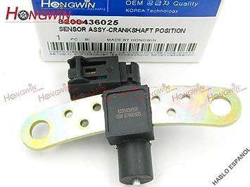 Amazon.com: HW 8200436025 - Sensor de posición del cigüeñal ...