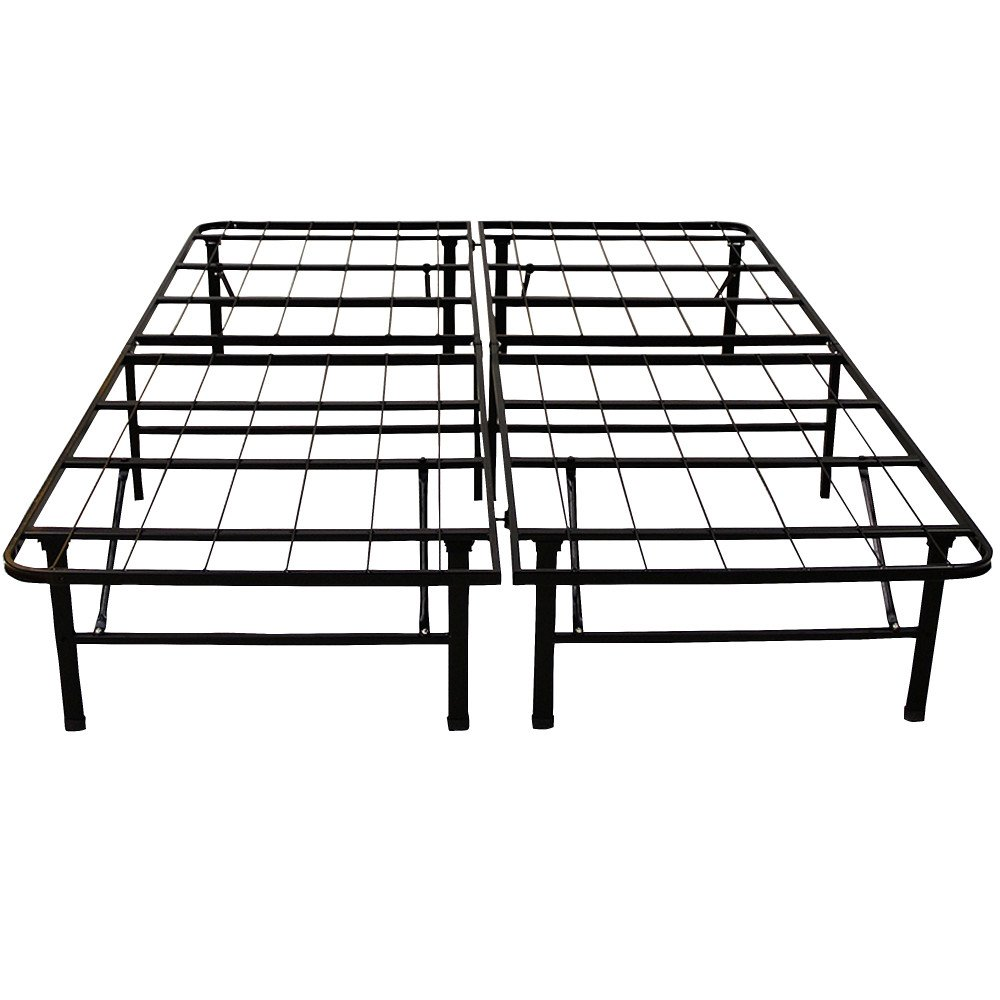 Estructura de cama King Size de plataforma de 14 pulgadas de alta ...
