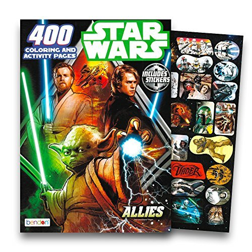 (Bendon Inc. Deluxe Star Wars Giant Coloring Book Set for Kids Toddlers -- Over 250 Coloring Pages with Star Wars)