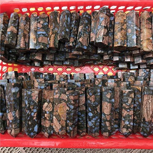 (FidgetGear 460g 7-9pcs Natural Que Sera Stone Llanite Quartz Crystal Wand Point Brazil)