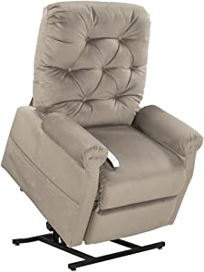 Mega Motion Classica Power Lift Chair Recliner- Camel (curbside delivery)