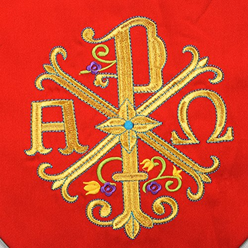 BLESSUME Priest Reversible Stole Embroidered Chasuble Stole by BLESSUME (Image #6)