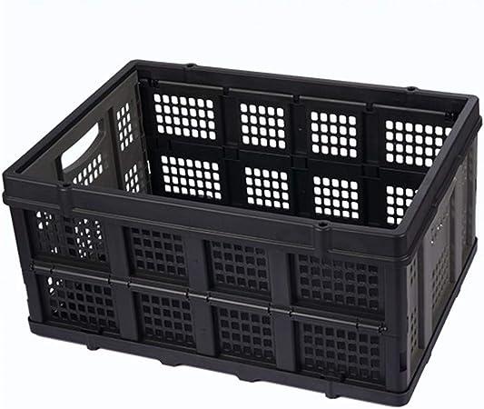 Envase Plegable Multifuncional Caja Plegable Muebles Organizadores Para Almacenamiento Plástico Cesto Apilables Cajas Almacenaje Ordenación Portátil Organizador Del Coche: Amazon.es: Hogar