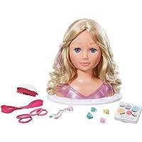 Zapf Création - Busto de muñeca para maquillar