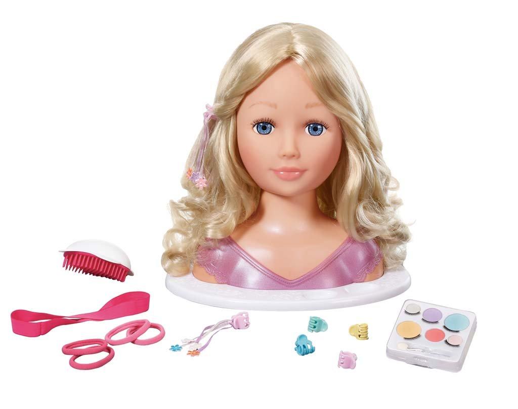Zapf Création - Busto de muñeca para maquillar y peinar (951415) Zapf Creation