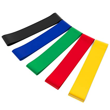 Traditional & Cultural Wear Resistance Bands Rubber Band Workout Fitness Gym Equipment Rubber Loops Latex Yoga Gym Strength Training Athletic Rubber Bands Fitness Equipments