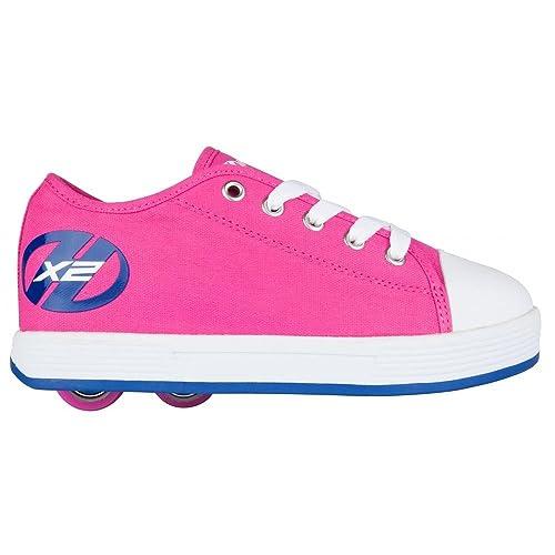 Heelys Zapatillas de Lona Para Niña Fucshia/Navy 31 EU Niños, Color, Talla 38 EU: Amazon.es: Zapatos y complementos
