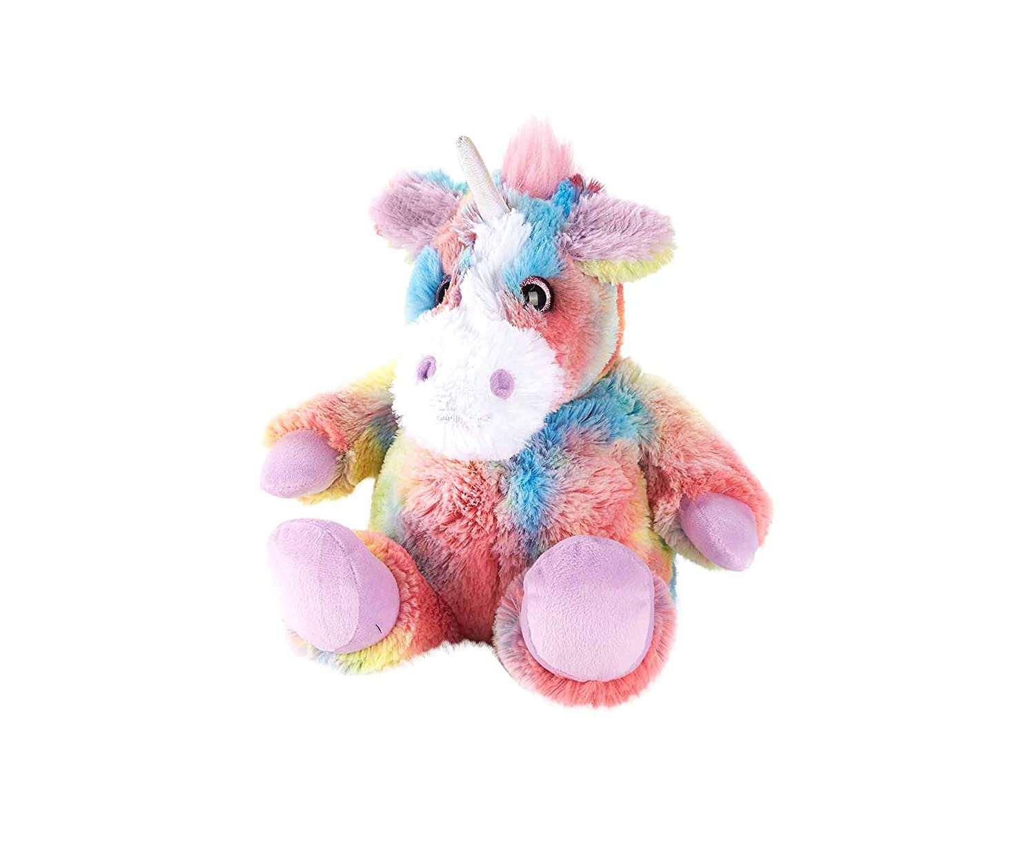 Warmies Rainbow Fur Unicorn Microwavable Toy Intelex