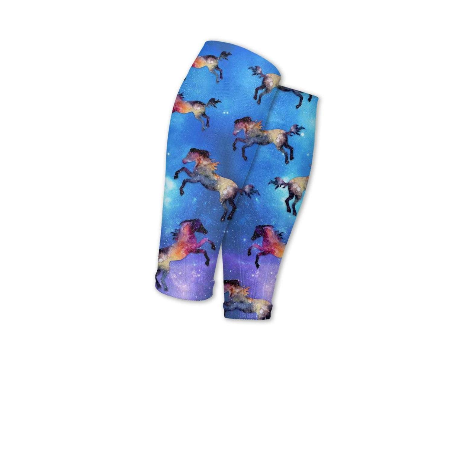 Smilelolly animal horse Calf Compression Sleeves Helps Pain Relief Leg Sleeves for Men Women