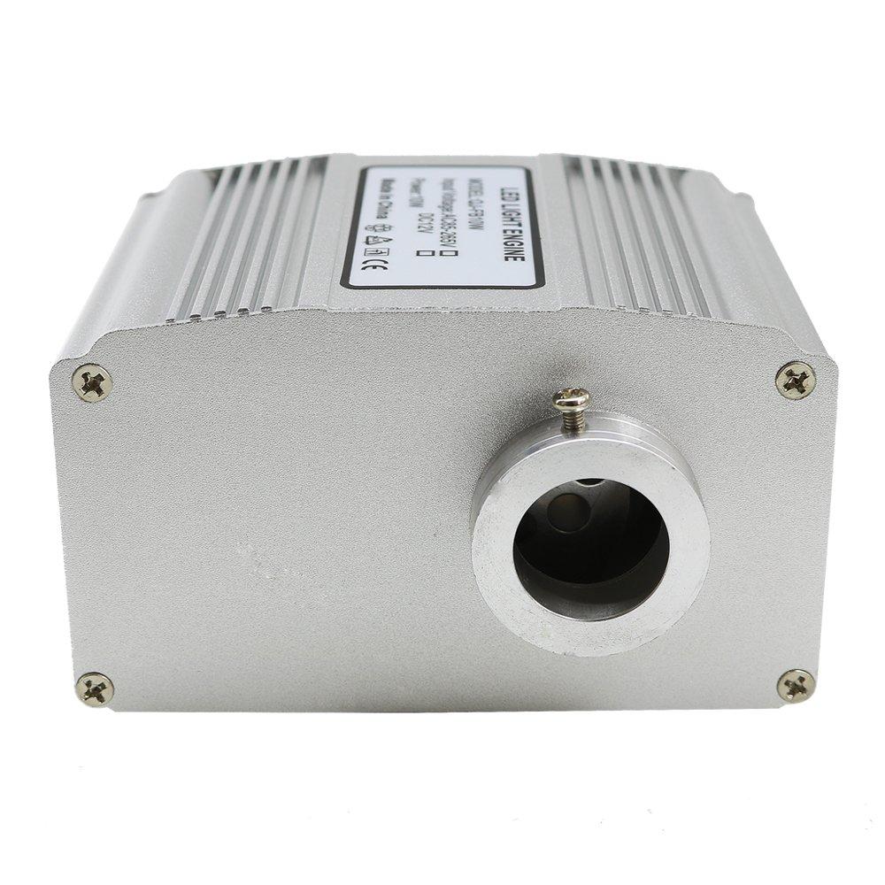 RF 28 Key Remote 0.75mm//0.03in 6.5ft//2m 9.8ft//3m 13.1ft//4m 16.4ft//5m 200PCs 10W RGBW Twinkle LED Fiber Optic Star Ceiling Lights Kit