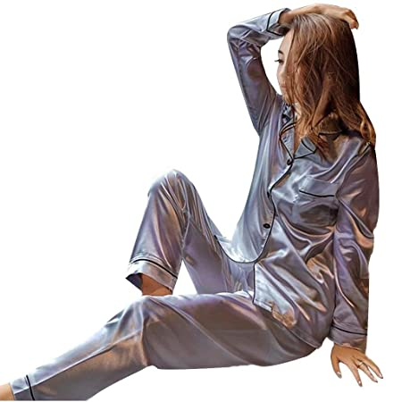 Camisones Pijamas de Mujer Traje de Agua Sexy Delgado Pijama de ...