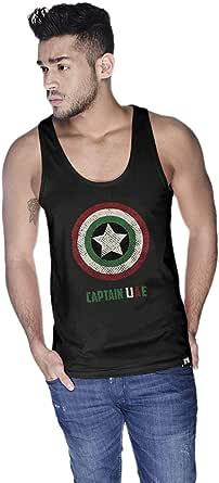 Creo Captain Uae Tank Top For Men - L