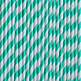 Paper Drinking Straws Teal 150ct