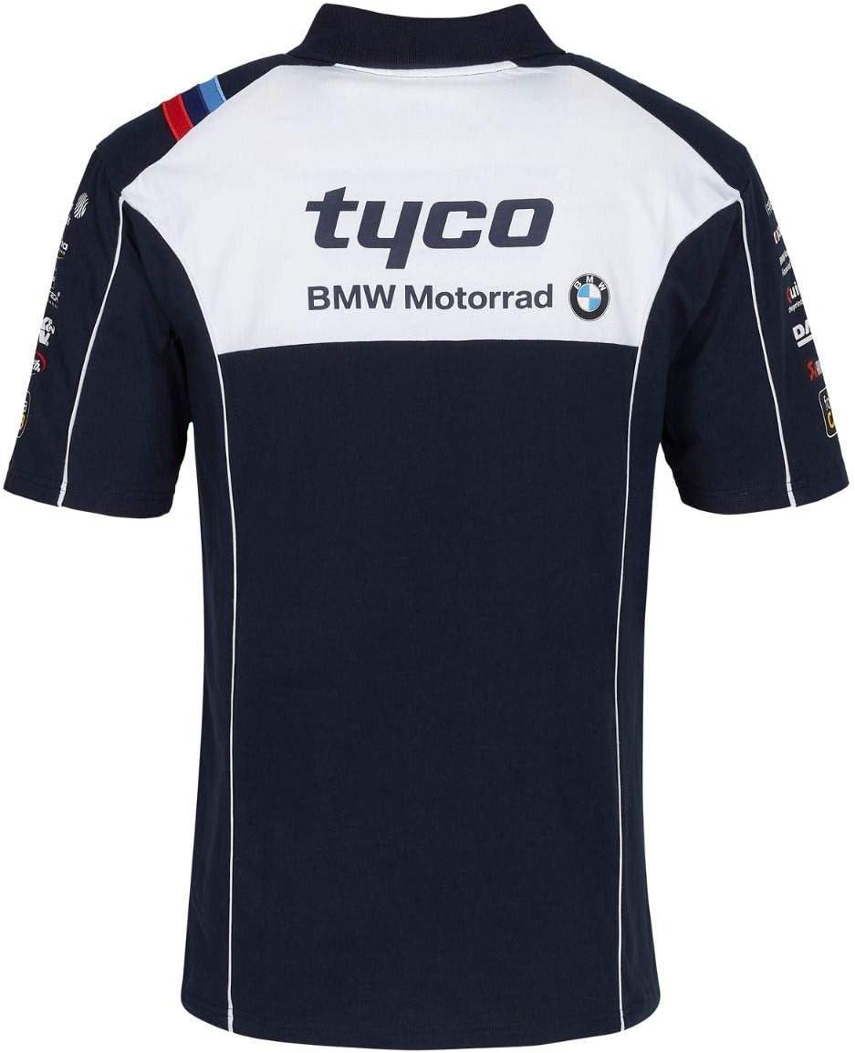 Tee-shirt de paddock Pitlain pour /équipe courant des motos Tyco Motorrad B.M.W hommes M sombre