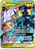 Reshiram & Zekrom Tag Team GX - 157/236 - Ultra Rare - Cosmic Eclipse