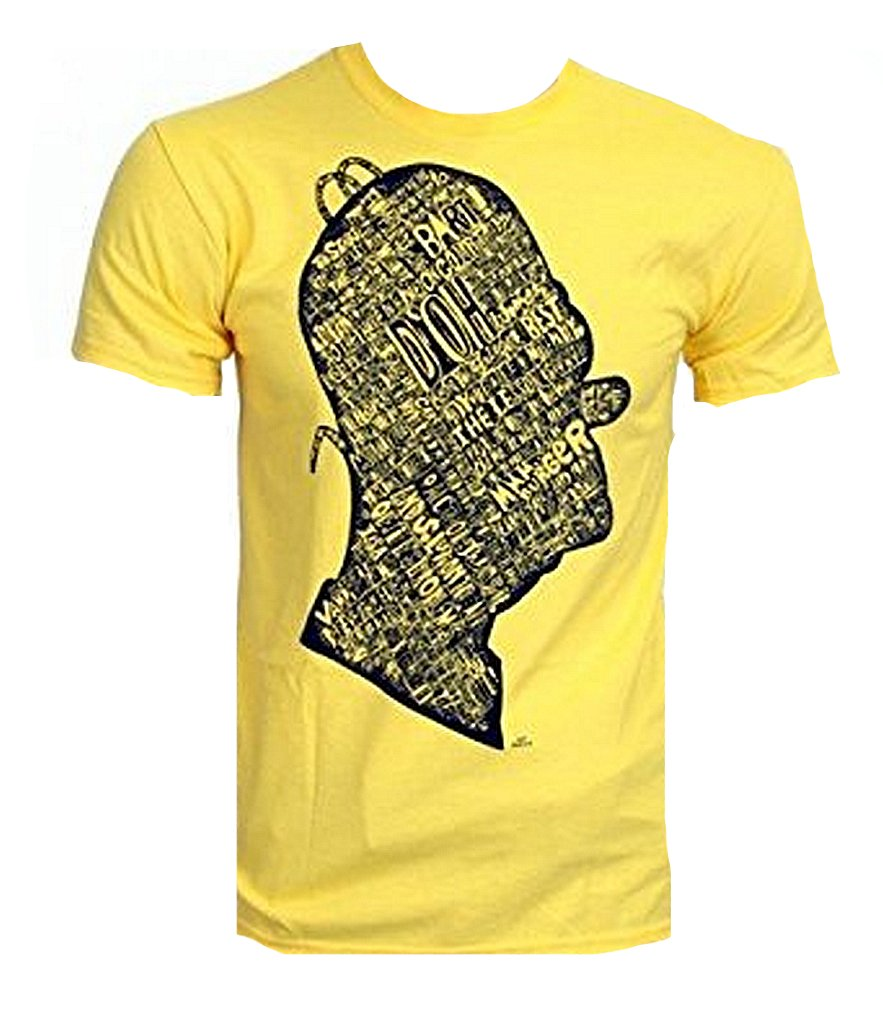 Tshirt Homer Grafitti - Ma Shttps://amzn.to/34MGoot