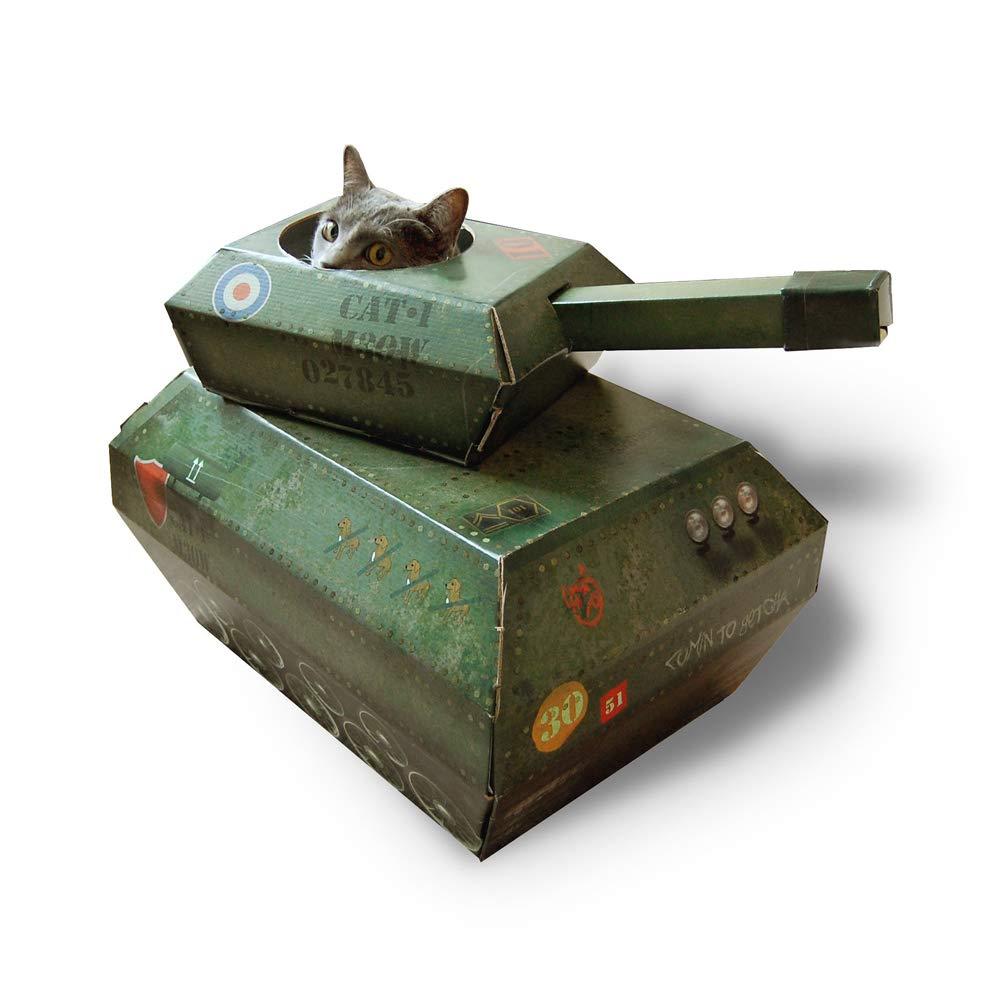 Suck UK Cat Play house - Tank by Suck UK