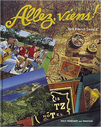 Allez viens French: P/E ALLEZ, VIENS HOLT FRENCH LEVEL 2 96 Level ...