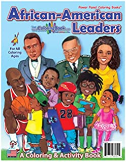 Amazon.com: Great African Americans Coloring Book (Dover History ...