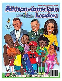 African American Leaders Coloring Book (8.5x11): ColoringBook.com ...