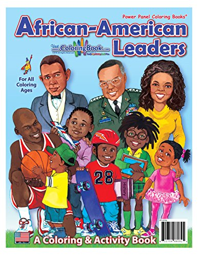 Search : African American Leaders Coloring Book (8.5x11)