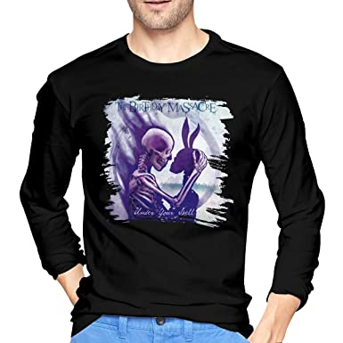 DonMMason The Birthday Massacre Under Your Spell Cotton Mens T Shirt Fashion Long Sleeve Tees