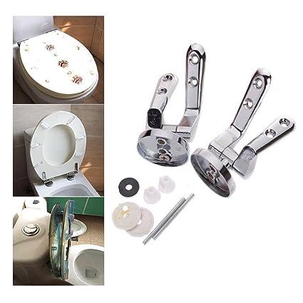 Stupendous Maximumstore Universal Set Alloy Toilet Seat Replacement Machost Co Dining Chair Design Ideas Machostcouk