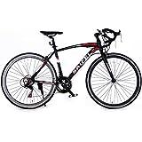 ロードバイク 700C 初心者SD-01自転車 14段変速 男女兼用 通勤通学 軽量 ドロップハンドル