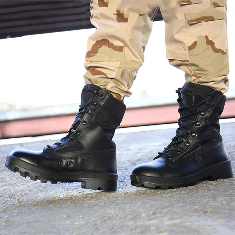 1cf6f8c80c245 Amazon.com: SHANHEYY Desert Combat Boots Men Army Military Tactical ...