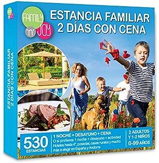 Cofre DE EXPERIENCIAS Estancia Familiar 2 DÍAS con Cena - Más de 530 estancias Familiares con