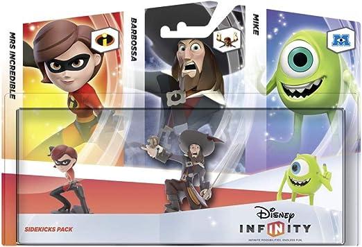 Disney Infinity - Pack 3 Figuras Companion: Helen, Barbossa, Mike ...