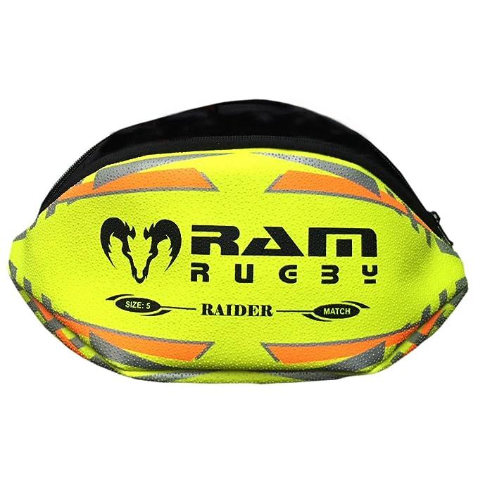 Estuche de balón de Rugby, Material Real de Pelota de Rugby ...