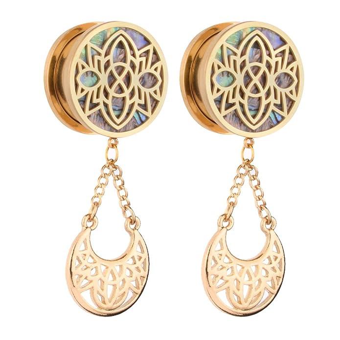 Amazon.com: Yidula - dilatadores de oreja para orejas ...