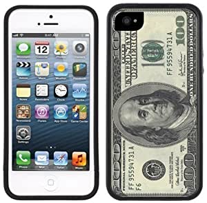 100 Dollar Bill American USA Currency Handmade iPhone 5 5S Black Case