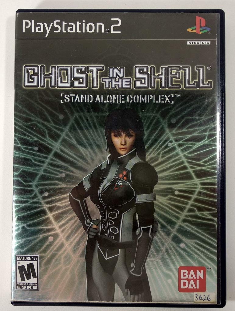 Amazon Com Ghost In The Shell Stand Alone Complex Playstation 2 Artist Not Provided Video Games