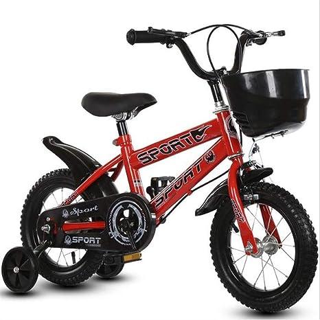 Dsrgwe Bicicleta niño, Bicicleta Niños, niño Acero Vespa de ...