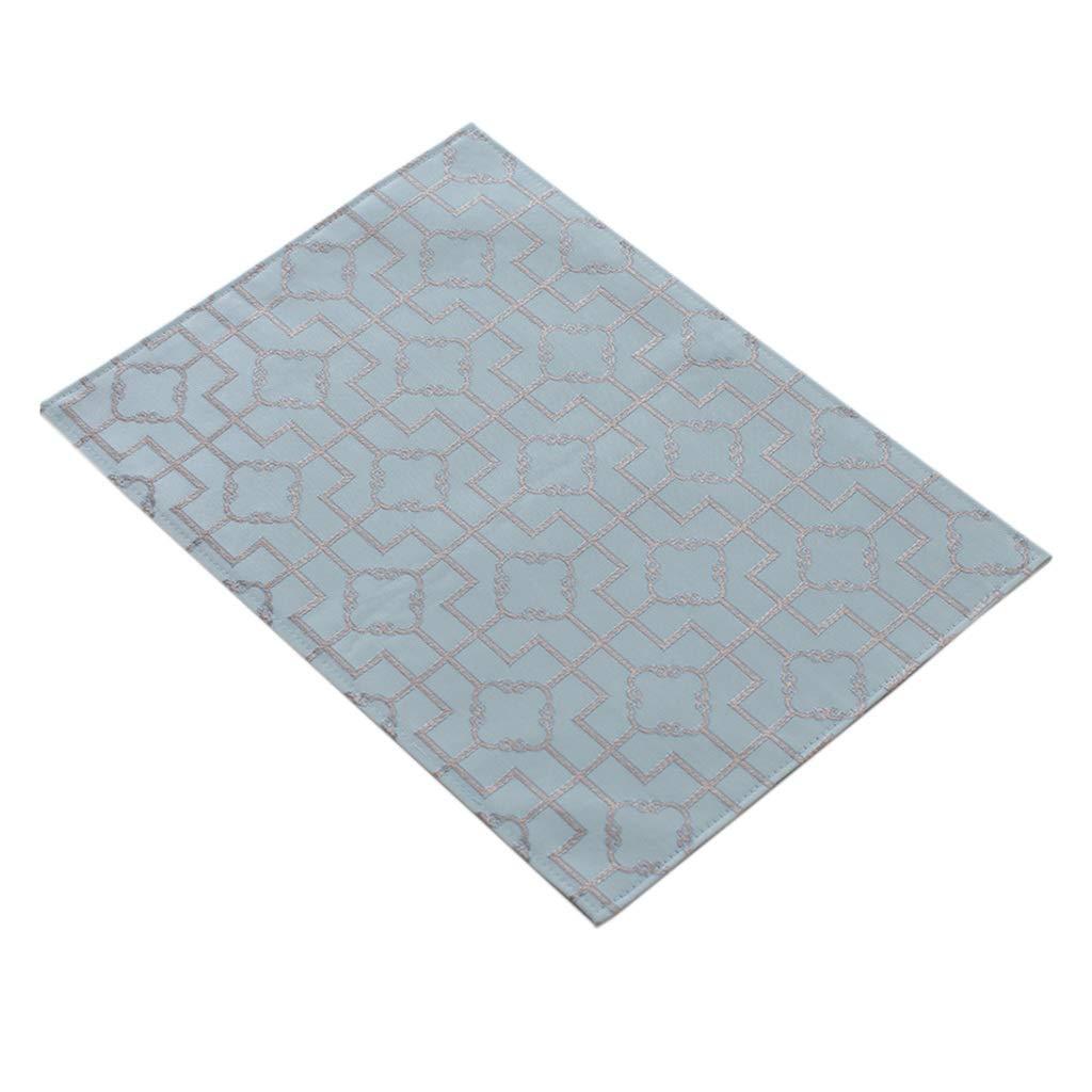 Placematパッド - 布Placematsテーブル断熱パッドやけど防止食器ボウルマット (色 : A, サイズ さいず : (6 piece)) (6 piece) A B07NVK2D4W