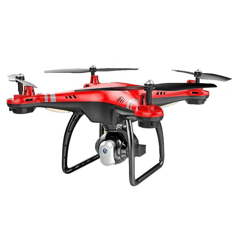 X8 RC Drone mit HD 3MP Kamera Höhe Halten Sie eine Taste Return / Landing / Take Off Headless Modus 2.4G RC Quadcopter Drone