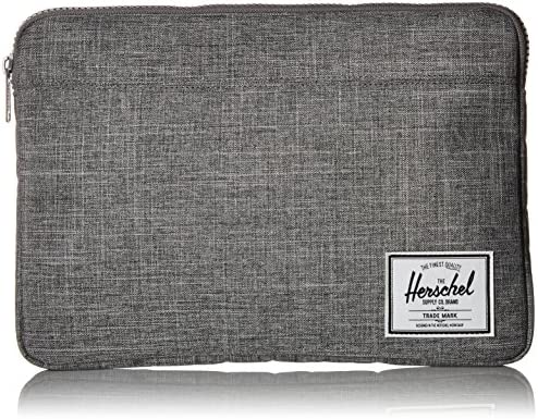 Herschel Anchor Sleeve for MacBook/iPad, Raven Crosshatch, 13-Inch