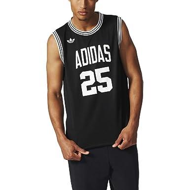fa01a0e78f6 adidas by NIGO Team 25 Basketball Jersey - Black - M: Amazon.co.uk: Clothing