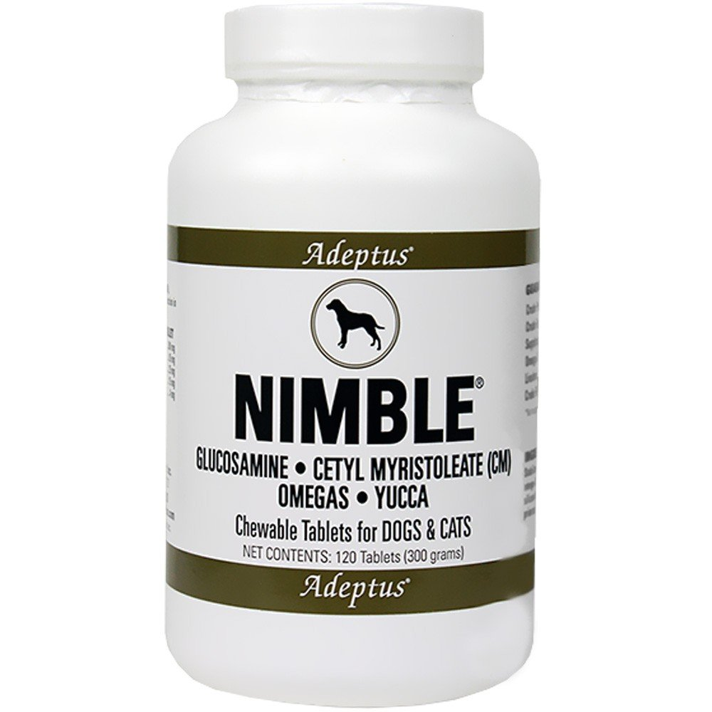 Adeptus Nutrition Nimble Ultra Pet Supplement (Joint Support Tablets)